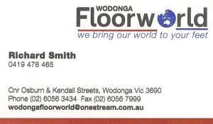 floor world advert