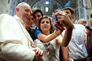 Pope Francis and young people